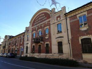edificio liberty di produzione pellami, società anonima